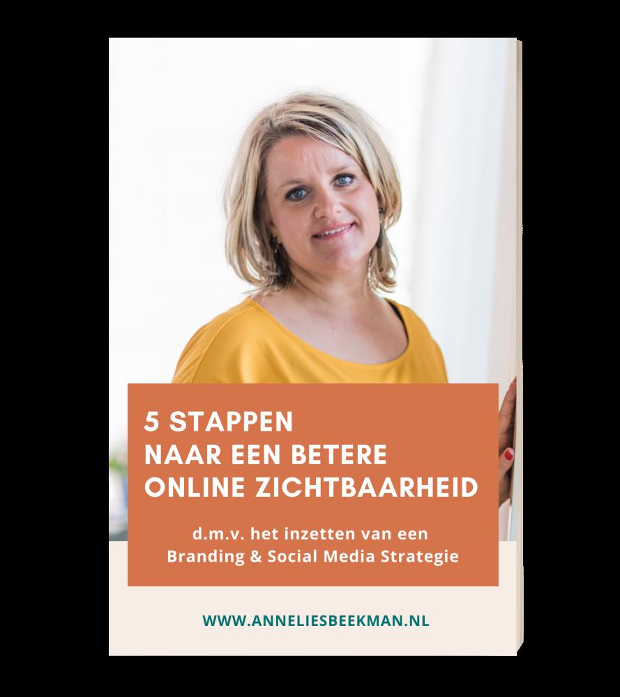 E-book, branding, online zichtbaarheid